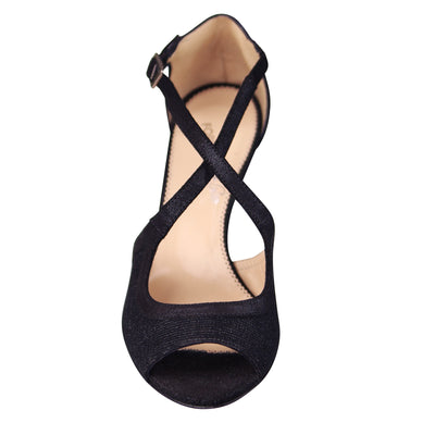 Stardust Black Sandals (EU38)