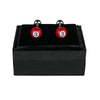 Red Billiard Cufflinks
