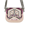 Mini 'Navajos' Pink Rubber Sling Bag