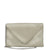Dove Grey Envelope Clutch
