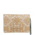 Beige Lace Rubber Clutch