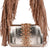 Capri Rose Gold Fringe Bag