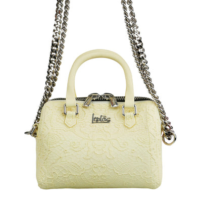 Mini Yellow Lace Rubber Bag
