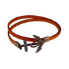 Leather Anchor Bracelet - Bohology