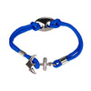 Anchor Electric Blue Bracelet - Bohology