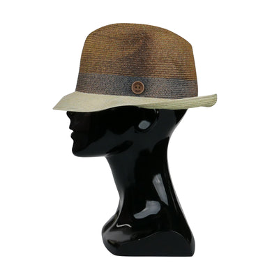 Brown 'Spray' Foldable Hat