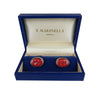 Red Tie Cufflinks - Bohology