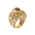 18K Gold 'Baroque' Ring