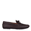 Brown Textured 'City' Loafers (Size UK10.5/ EU44.5)