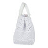 3D Large White Woven Rubber Bag