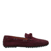 Burgundy Suede 'City' Loafers (Size UK11.5/ EU45)