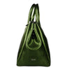 Metal Camo Army Green Rubber Bag
