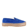 Handmade Electric Blue Espadrilles (EU37)