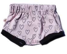 "Load image into Gallery viewer, Rump-shaker Shorties ""Pink Hearts"""