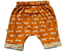 "Load image into Gallery viewer, Harem Shorts ""Leopard"""