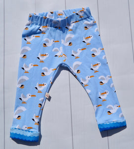 "Leggings ""Seagulls"""