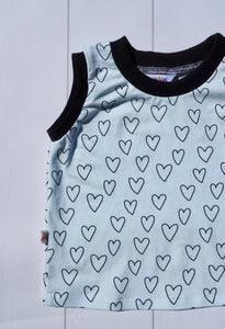 "T-Shirt ""Mint Hearts"""