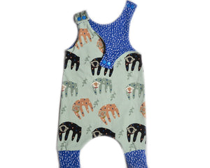 "Harem Romper ""So Slow Sloth"""