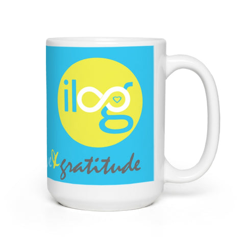 Infinite Love & Gratitude Mug 15 oz.