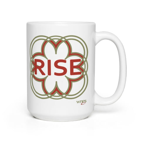 RISE Bloom Mug 15 oz.