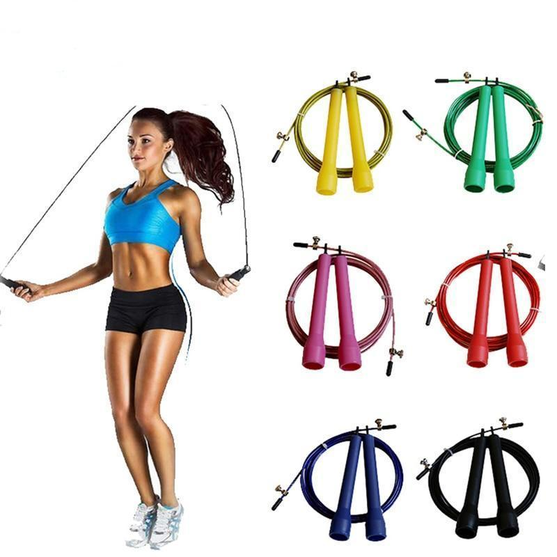 a4a13be112 AllOutActive 3m High Speed Aerobic Steel Wire Skipping Rope
