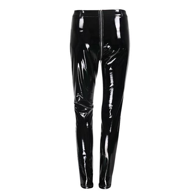 94717ae5643f0 Shiny PU Leather Latex Rubber Jeggings | ALL OUT ACTIVE – AllOutActive