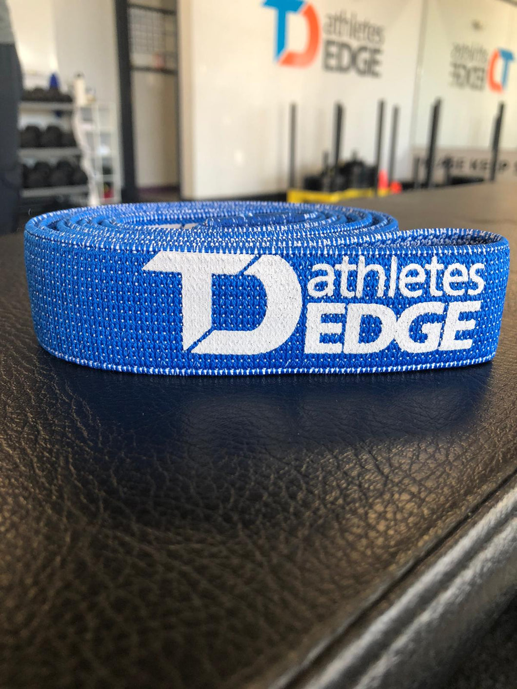 Fabric Pull-Up Band: Blue Heavy (13-50lbs) - TD Athletes Edge
