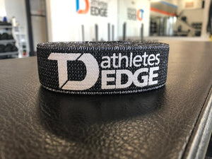 Fabric Pull-Up Band: Black Extra-Heavy (15-60lbs) - TD Athletes Edge