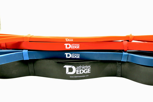 Heavy Resistance Bands - Set of 4 - TD Athletes Edge
