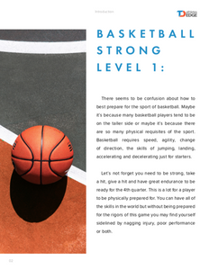 TDAE Basketball Strong Level 1 + 2x/week live training - TD Athletes Edge