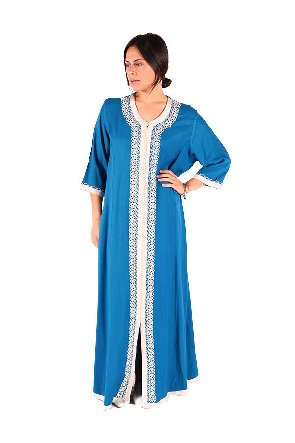 Long & Stunning Moroccan Caftan Traditional Moroccan Women Clothing