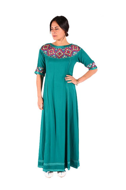 Stylish Frock Style Moroccan Women Clothing Caftan 2018