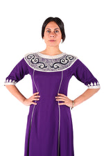 Classy Purple Traditional Moroccan Clothes Moroccan Kaftan