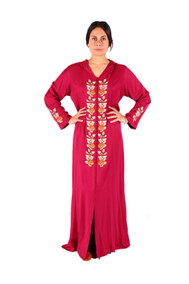 Unique & Authentic Red Phenomenal Moroccan Caftan 2018