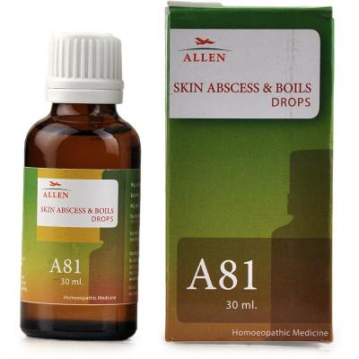 A81 Skin Abscess And Boils Drops