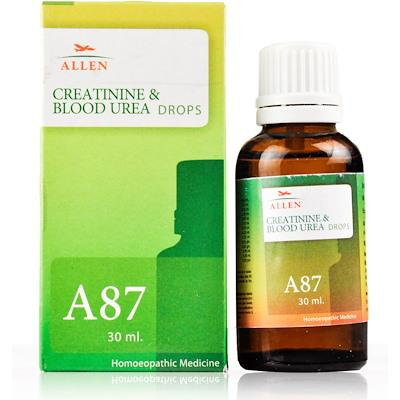 Allen A87 Creatinine and Blood Urea Drops