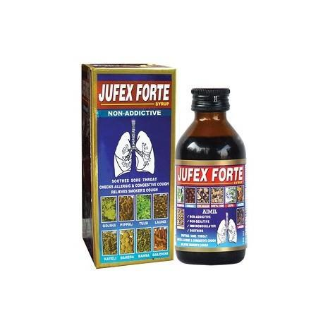 Jufex Forte Syrup: Ayurvedic Medicine for Respiratory Infections
