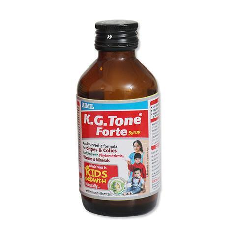 K.G. Tone Forte Syrup: Ayurvedic Medicine for Kid's Growth