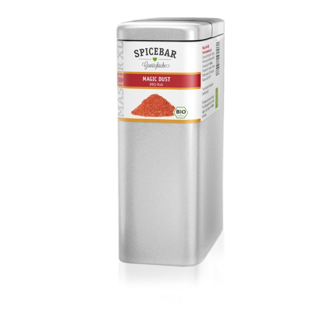 BBQ sausā marināde Spicebar, Magic Dust XL, bio, 500g