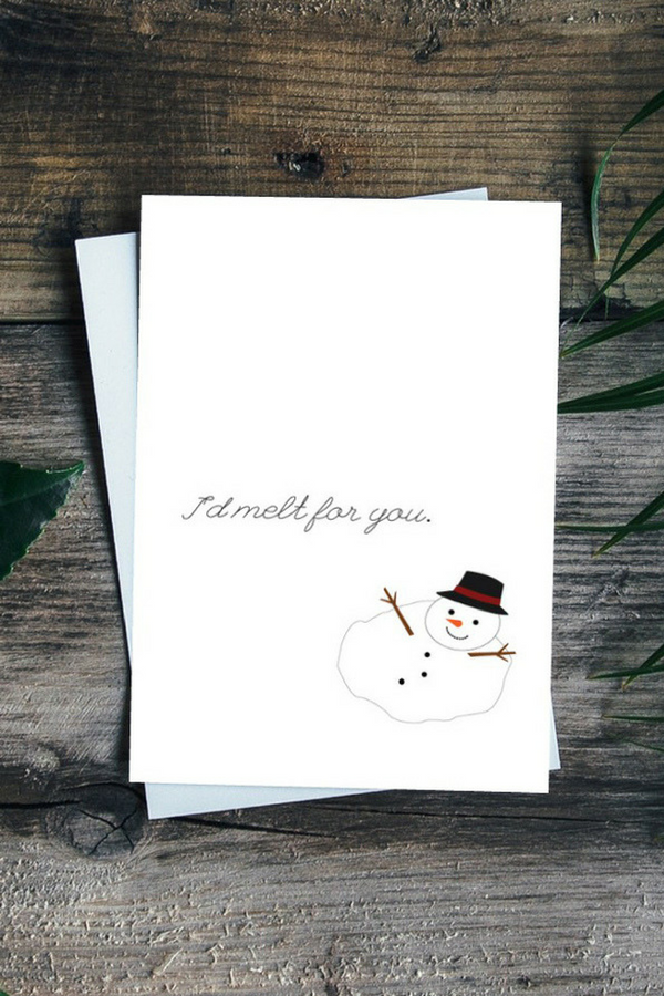 Melt For You Greeting Card