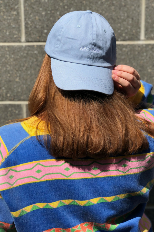 GRL PWR Baseball Cap - Powder Blue