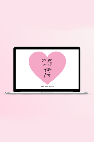 Her Campus Valentine's Day Desktop Wallpapers (Free!)