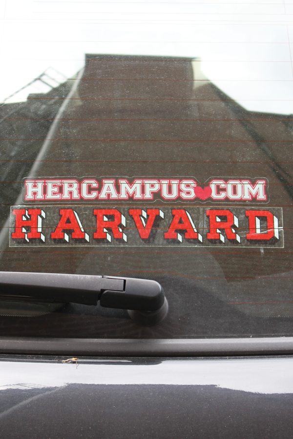 HerCampus.com Window Decal