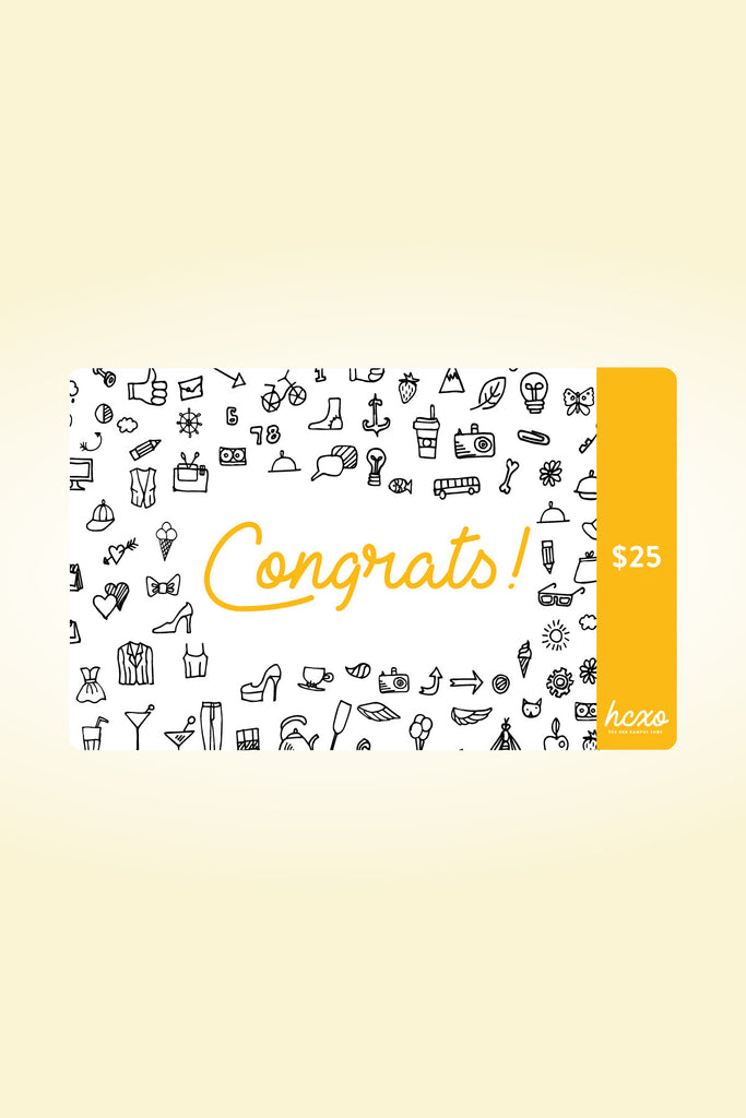 hcxo.shop Gift Card - Congratulations