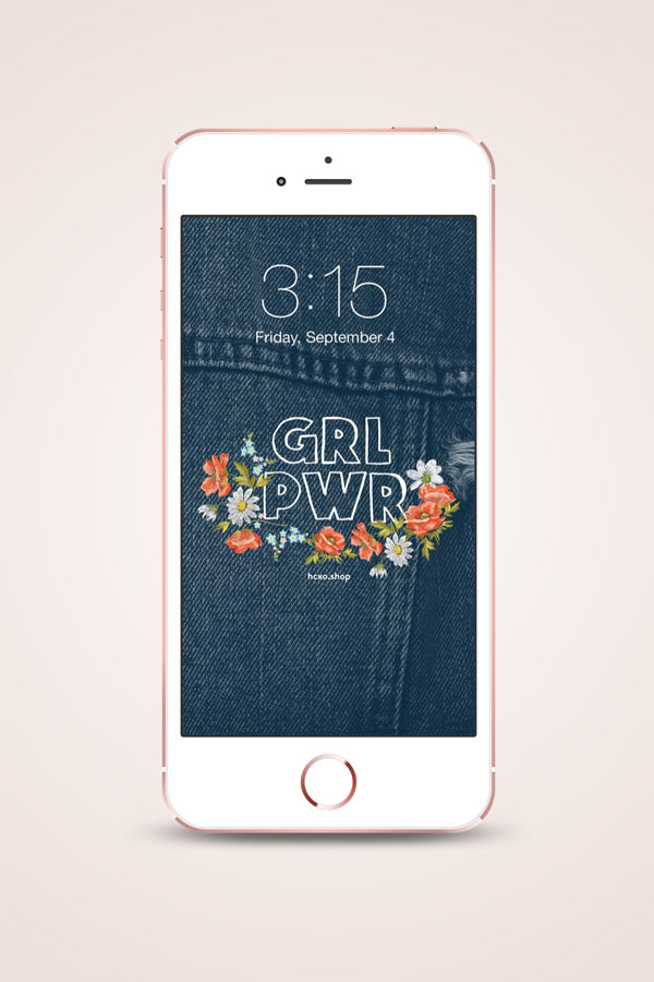 feminist lockscreens