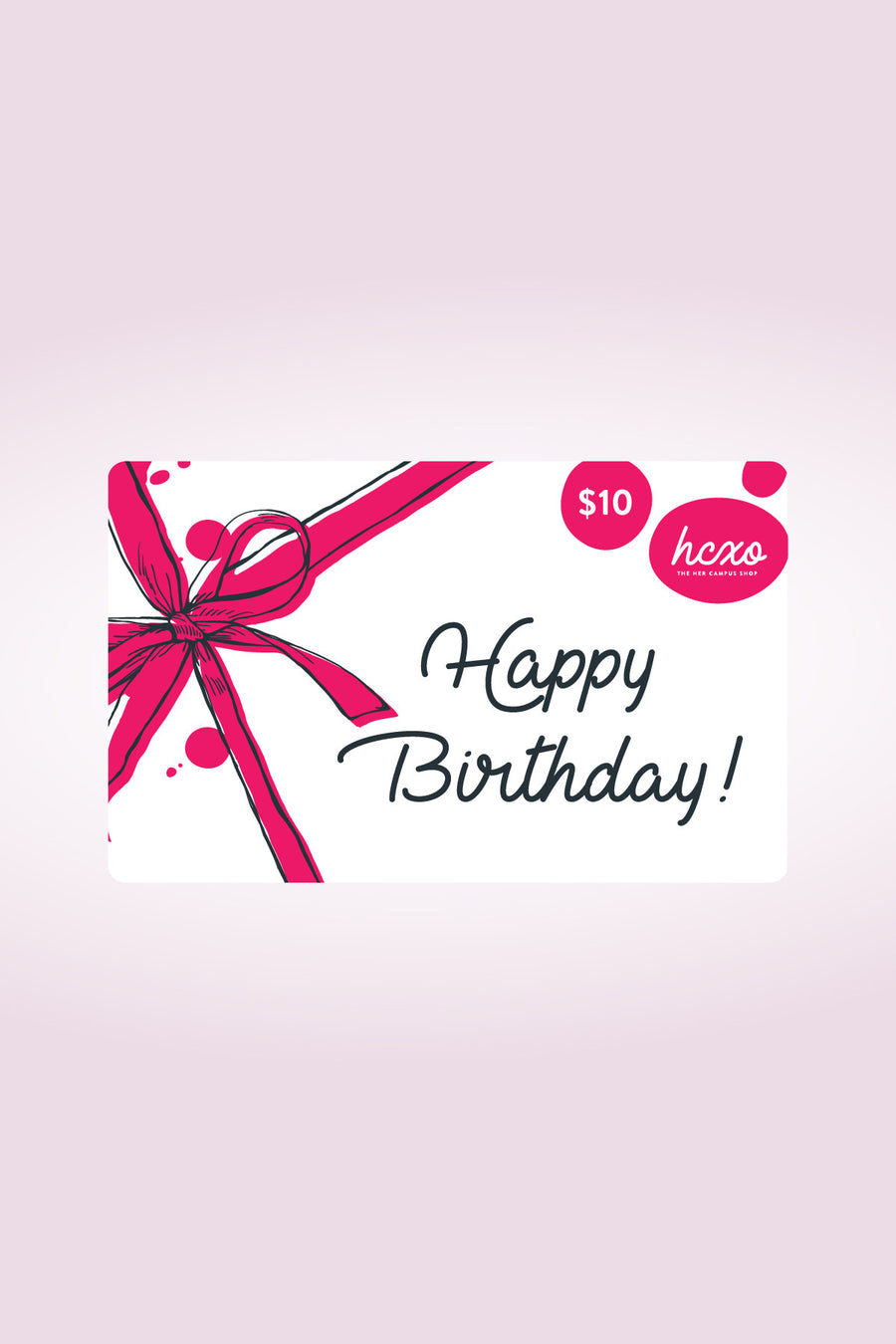 hcxo.shop Gift Card - Happy Birthday