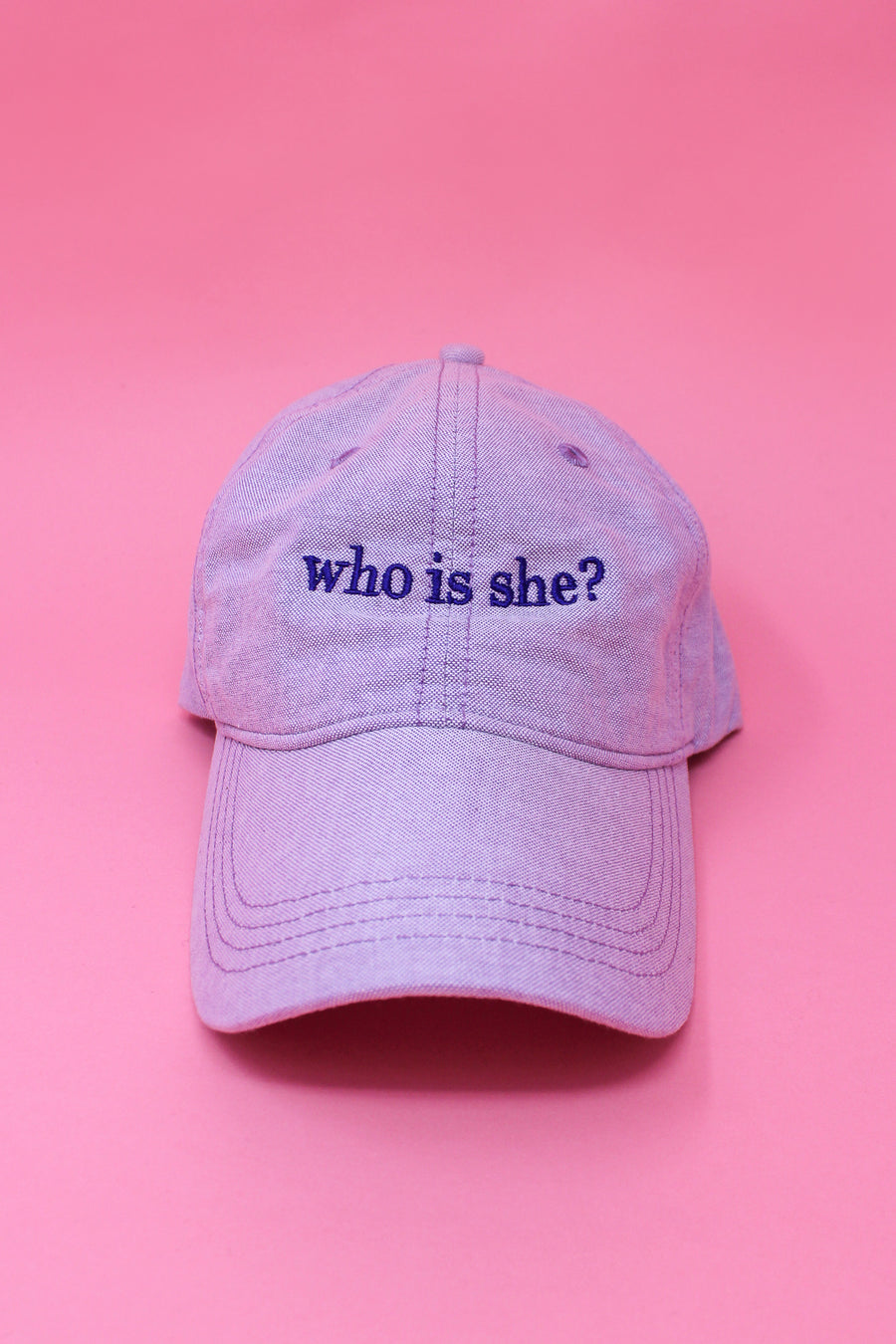 Who is She? Baseball Cap