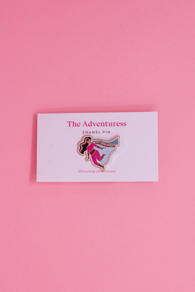 Adventuress Enamel Pin