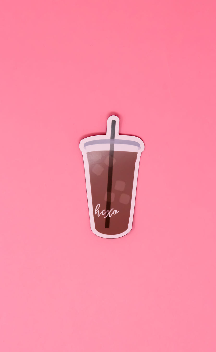 Iced Coffee Magnet