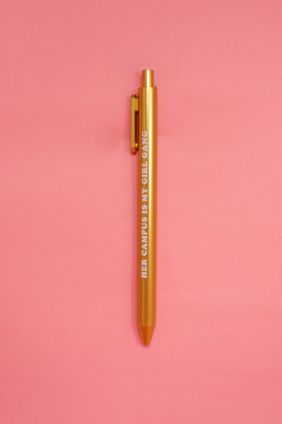 Her Campus Girl Gang Pen - Gold